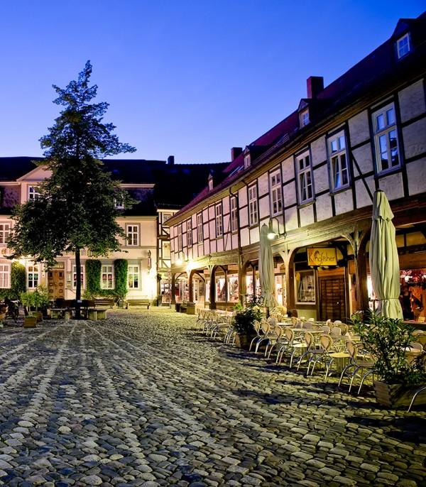 Der Schuhof in Goslar