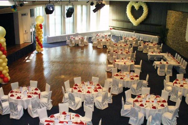 Hochzeit im großen Saal