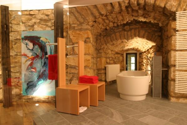Badezimmer der Kaisersuite