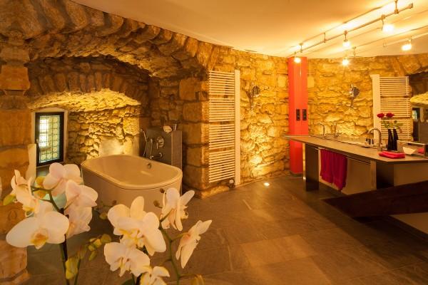 Badezimmer in der Kaisersuite