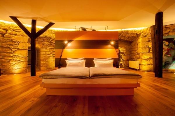 Bettbereich der Kaisersuite