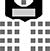 Bestuhlung Stuhlreihen
