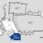 Raumplan Raum Rosentor DER ACHTERMANN